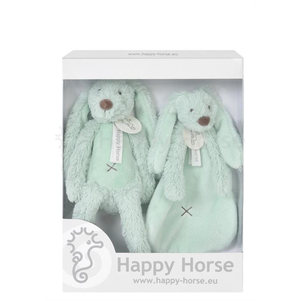 Happy Horse - Set cadou Jucarii de plus Iepurasul Richie Lagoon