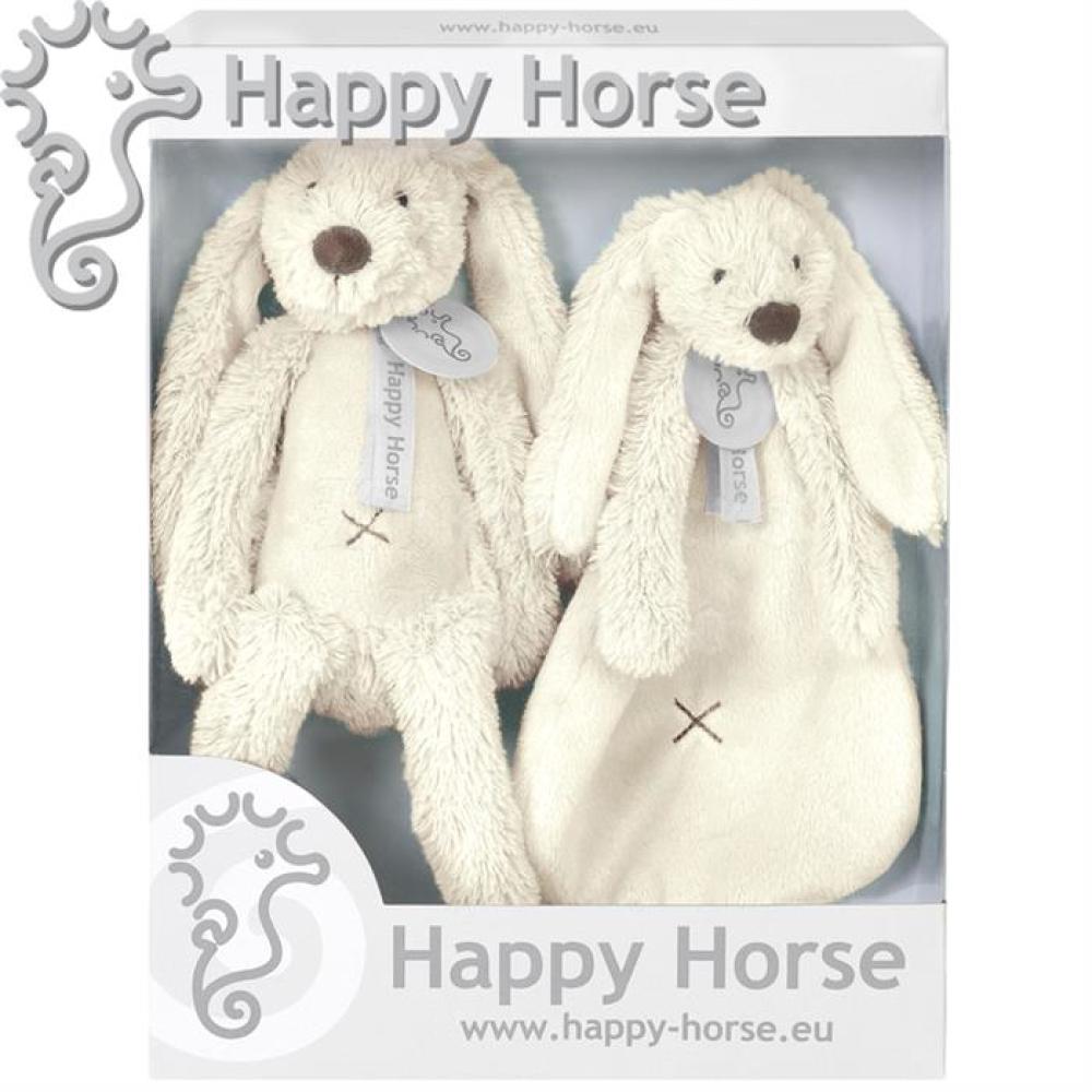 Happy Horse - Set cadou Jucarii de plus Iepurasul Richie Ivory