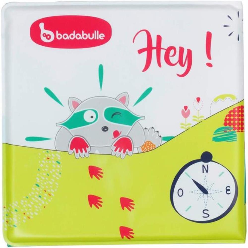 Badabulle - Carticica multicolora pt baita cu personaj inclus