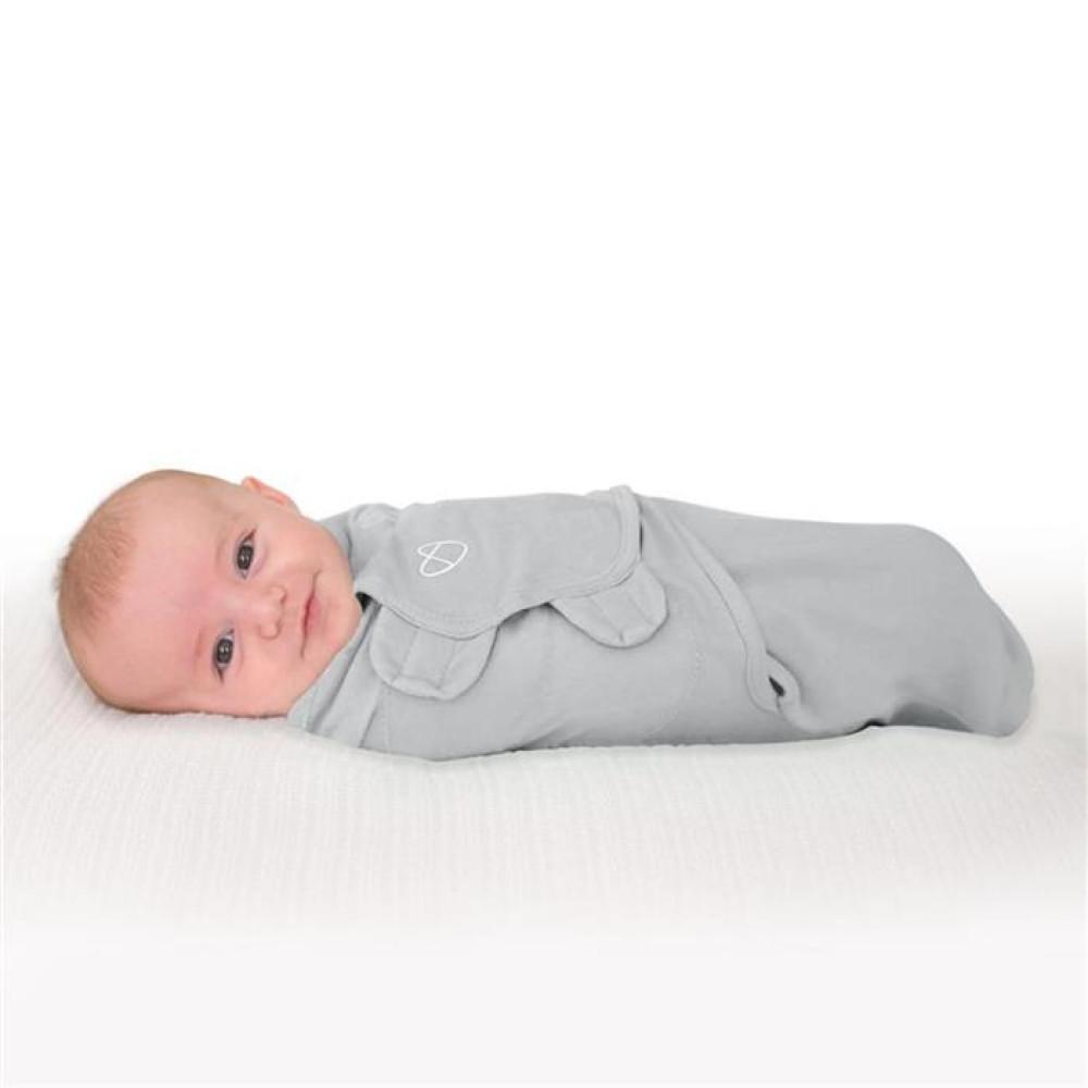 Swaddle Me - Sistem de infasare Grey, 0-3 luni
