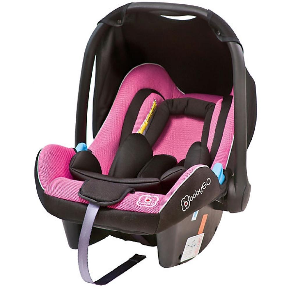 BabyGo - Scoica Auto Traveller Xp Pink