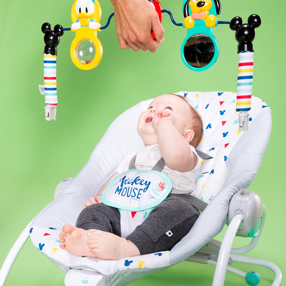 Baby Einsten - Balansoar Dis Infant to toddler MickeyTakealong