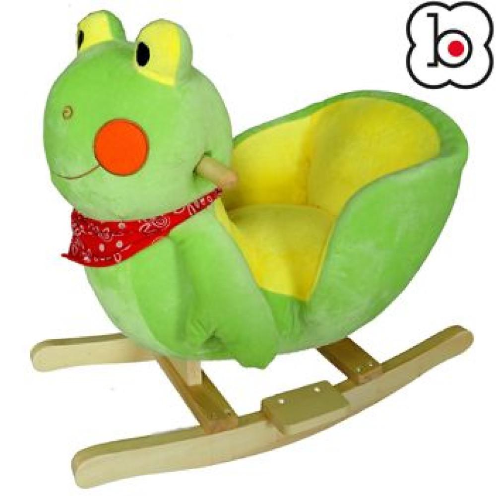 BabyGo - Balansoar  cu sunete Broscuta
