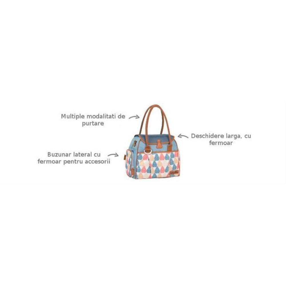 Babymoov - Geanta Multifunctionala New Style Zinc