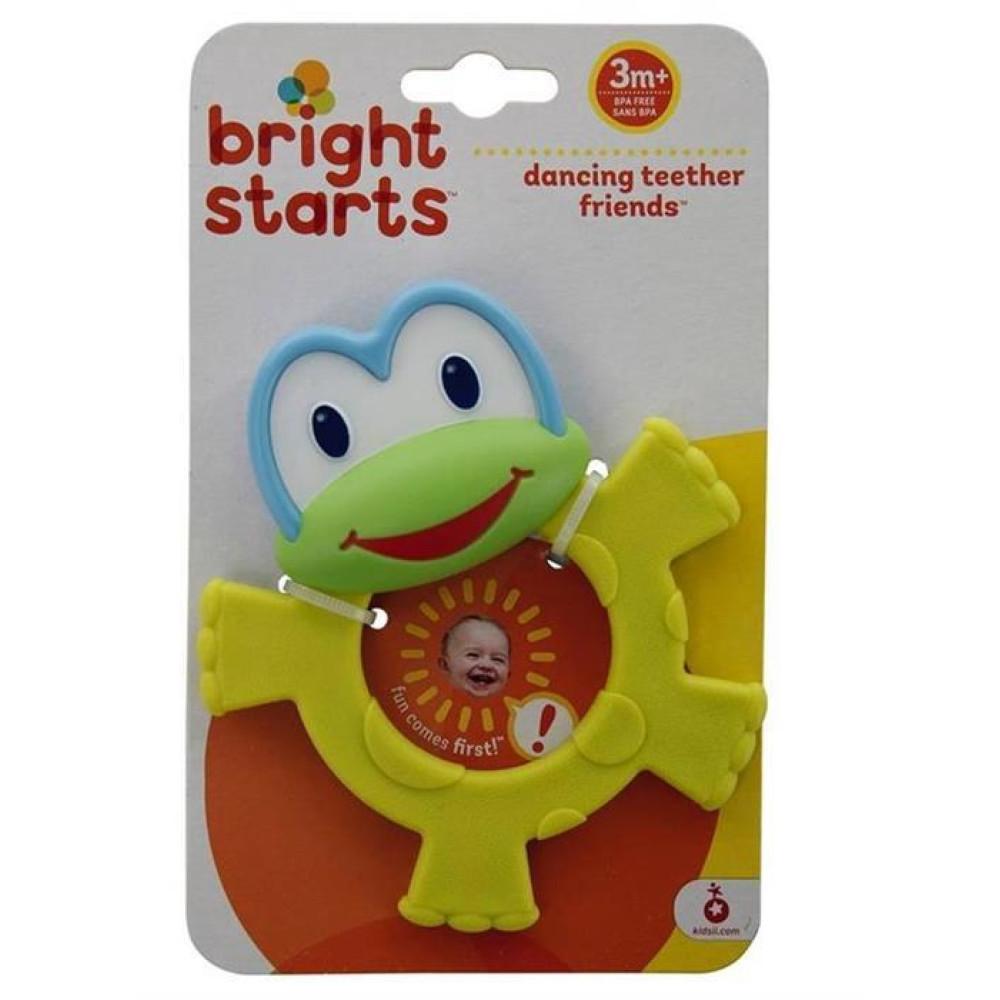 Bright Starts - Jucarie pentru dentitie Prietenii Dansatori - Broscuta