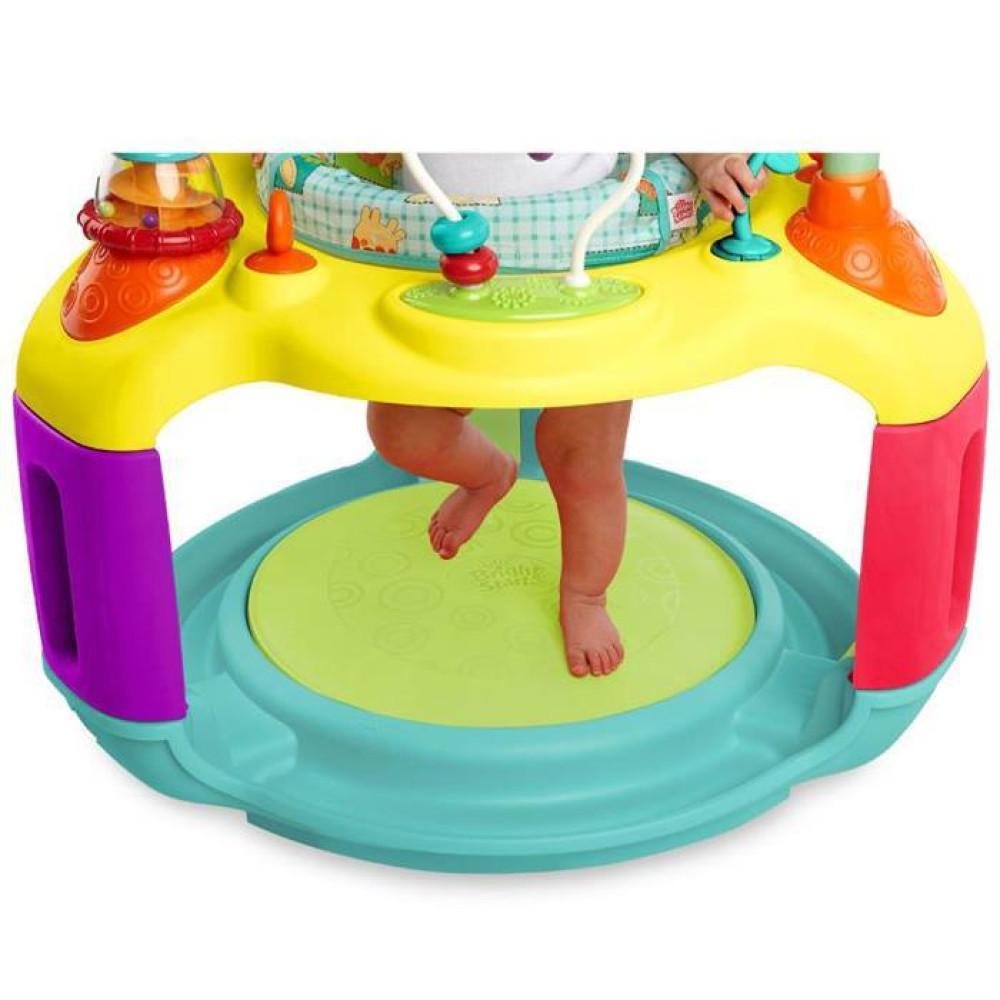 Bright Starts - Centru De Activitati Springin' Safari Bounce-A-Round