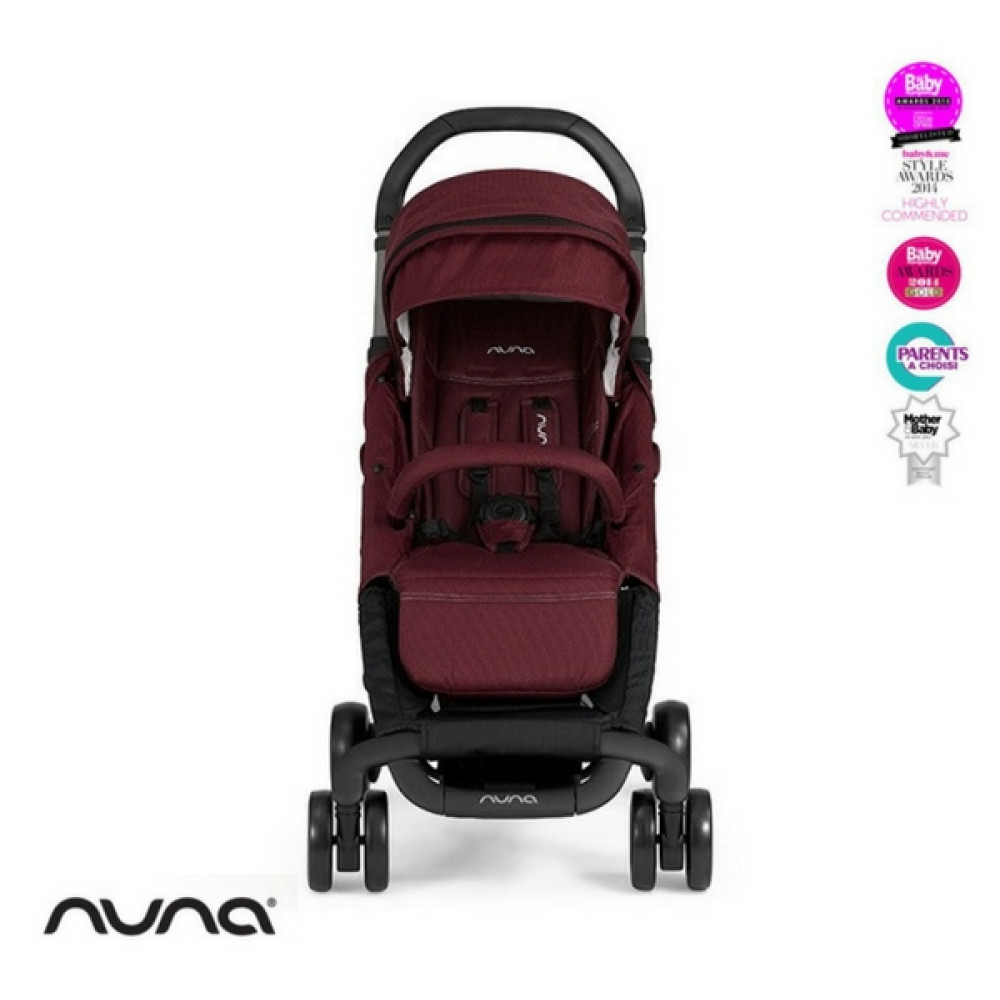 Nuna - Carucior Pepp Luxx cu bara de protectie Berry