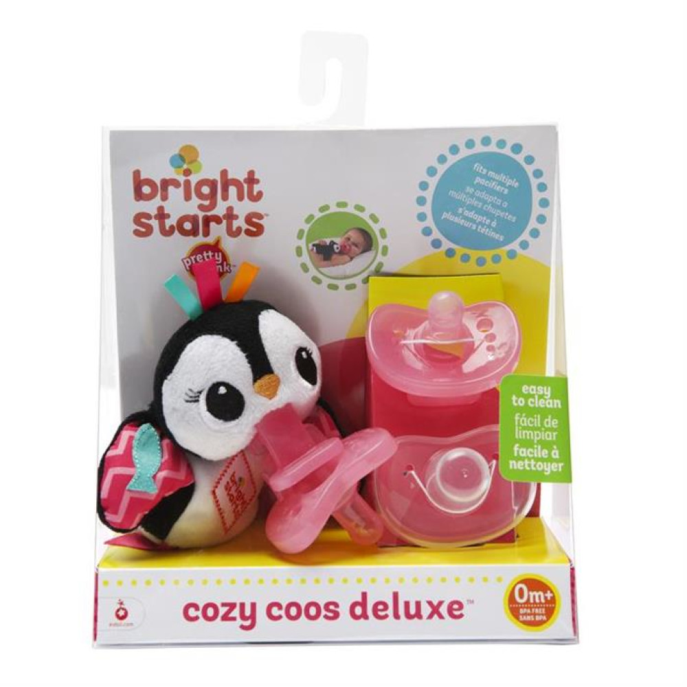 Bright Starts - Suzeta Coze Coos Dlx Pinguin