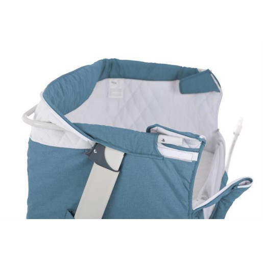 BabyGo – Patut co-sleeper 2 in 1 Together Turquoise Blue