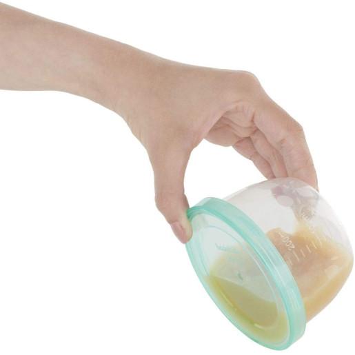 Badabulle - Set 5 recipiente etanse pentru pastrarea hranei