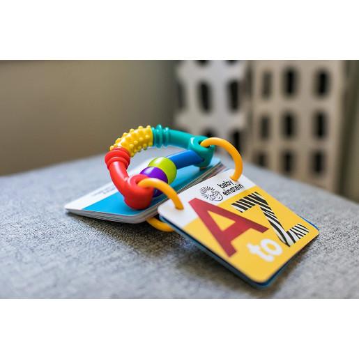 Baby Einstein - Jucarie Cartonase cu Alfabetul de la A la Z