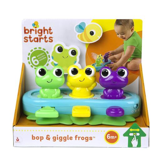 Bright Starts - Jucarie muzicala Broscute Bop & Giggle