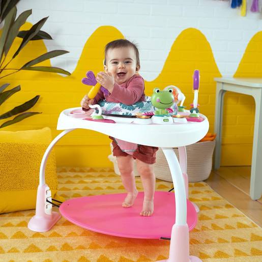 Bright Starts - Centru de activitati 2 in 1 Playful Palms