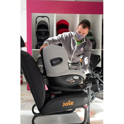 Joie - Scaun auto i-Spin 360° Gray Flannel, nastere - 105 cm