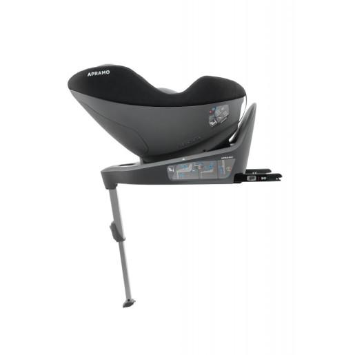Apramo - Scaun auto rotativ i-Size Mettro Hub, Dawn Grey 40-105 cm