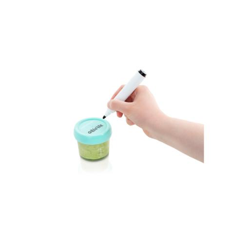 Babymoov - Set 4 boluri gradate din sticla, 220 ml