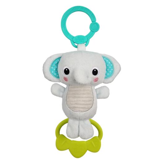 Bright Starts - Jucarie plus Elefant pentru carucior Tug Tunes