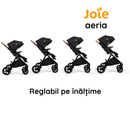Joie - Carucior multifunctional 2 in 1, reglabil pe inaltime, Aeria Signature Pine