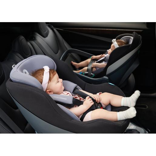Apramo - Scaun auto rotativ i-Size Mettro Hub, Basil Green 40-105 cm