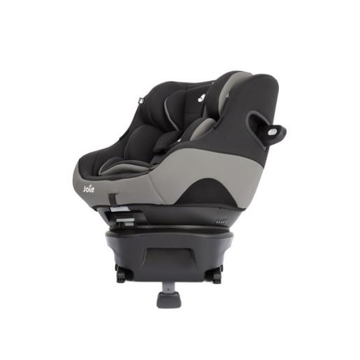 Joie - Scaun auto Spin Safe cu ISOFIX, Black Pepper, 0-18 kg