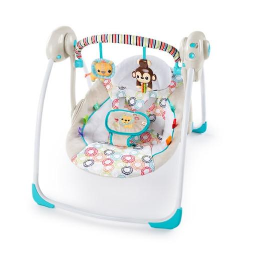 Bright Starts - Leagan portabil Petite Jungle