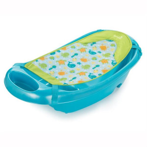 Summer Infant - Set Cadita si suport de baita Splish n Splash - Blue