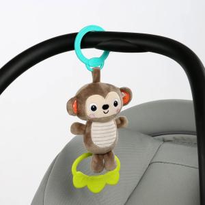 Bright Starts - Jucarie plus Maimutica pentru carucior Tug Tunes