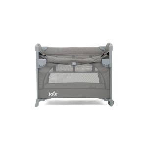 Joie - Patut pliant pentru cosleeping Kubbie Foggy Gray