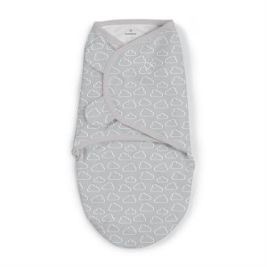 Swaddle Me - Sistem de infasare Cute Clouds, 0-3 luni