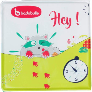 Badabulle -Carticica multicolora pt baita cu personaj inclus