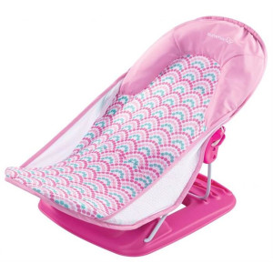 Summer Infant -  Suport pentru baita Deluxe Pink Stripes