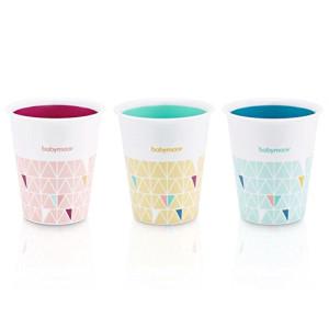 Babymoov -  Set de 3 pahare multicolore