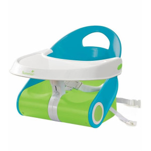 Summer Infant - Booster Sit 'n Style Albastru/Verde