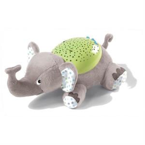 Summer Infant - Lampa cu sunete si proiectii Elefantul Eddie