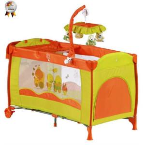 BabyGo - Patut pliant Sleeper Deluxe Orange