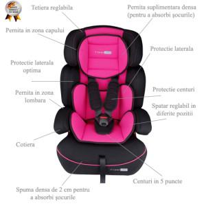 Babygo - Scaun Auto Freemove Pink