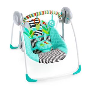 Bright Starts - Leagan portabil Swing Zig Zag Zebra
