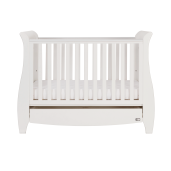 Tutti Bambini - Set mobilier Katie Alb format din 2 piese: patut si comoda