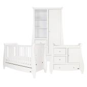 Tutti Bambini - Set mobilier Katie Alb format din 3 piese: patut, comoda si dulap