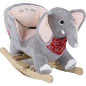 BabyGo - Balansoar cu sunete Elefantul Curios