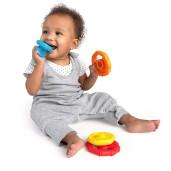 Baby Einstein - Jucarie multisenzoriala si de dentitie Stacking Teether