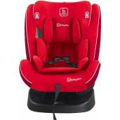 BabyGo - Scaun auto rotativ cu isofix Nova 360° Red, 0 - 36 kg