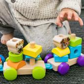 Baby Einstein – Jucarie de lemn Hape Discovery Train™