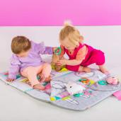 Bright Starts - Salteluta de activitati & Casuta de papusi Floors of Fun