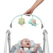 Ingenuity - Leagan portabil Swing 'n Go Portable Swing™ - Hugs & Hoots™