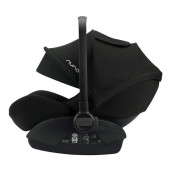 Nuna - Scoica auto i-Size ARRA Caviar + baza isofix, 40 - 85 cm