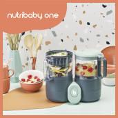 Babymoov - Robot multifunctional 4 in 1 Nutribaby ONE