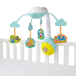 Bright Starts - Carusel Soothing Safari 2 In 1 Mobile