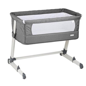 BabyGo – Patut co-sleeper 2 in 1 Together Grey