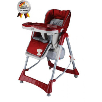 BabyGo – Scaun de masa Tower Maxi Red